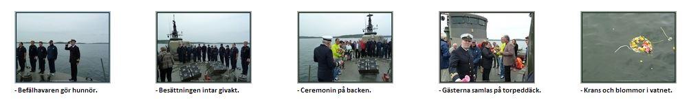 2013-06-01 Ett ceremoniellt och vördnadsfullt sista farväl nära Äggskäret, Mysingen.