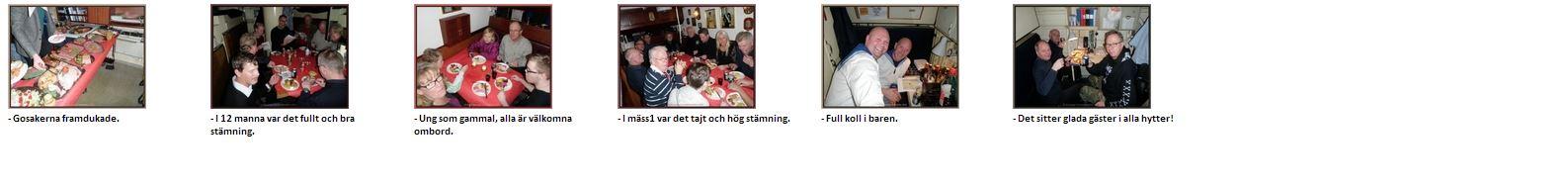2013-12-14 Årets traditionsenliga julbord ombord R142 Ystad.