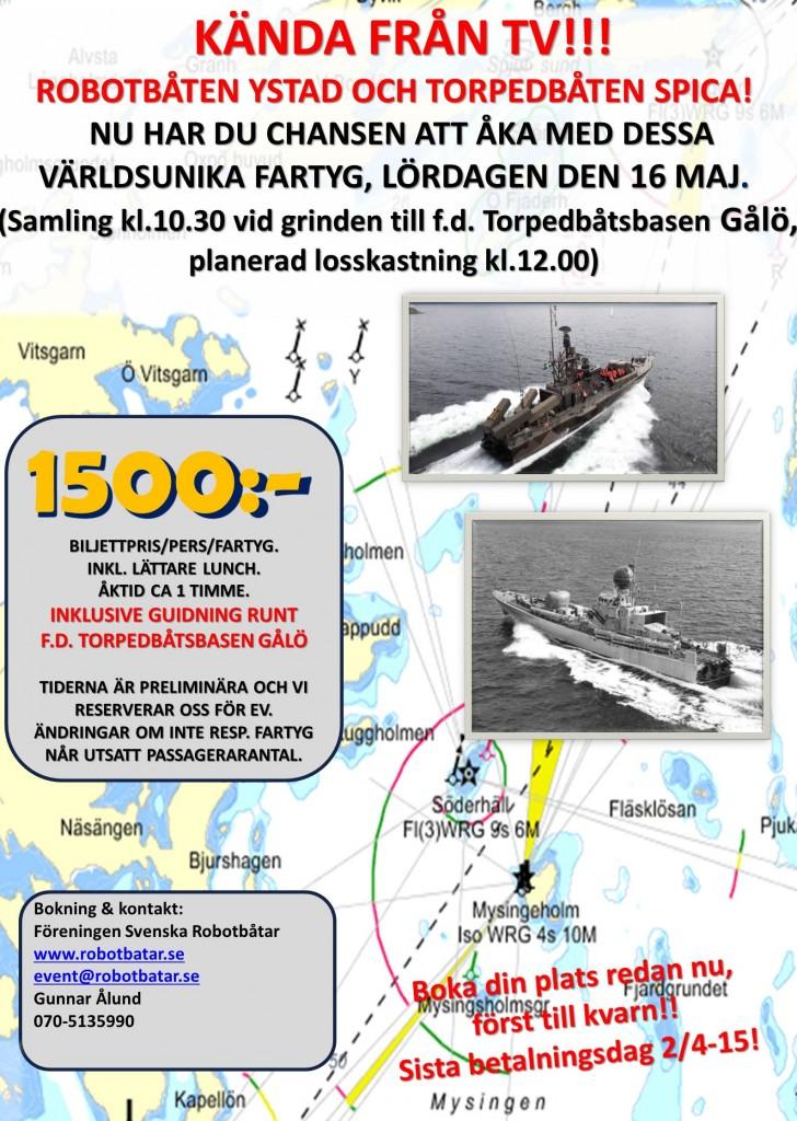 Rotekörning Gålö 150516