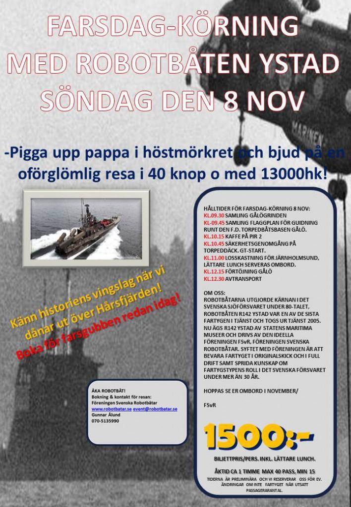 FARSDAG-KÖRNING R142 YSTAD 151108