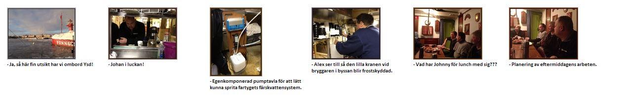2013-01-20 Extrainsatt arbetsdag.